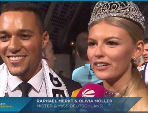 SAT 1 berichtet über die Miss & Mister Deutschland Wahl 2018